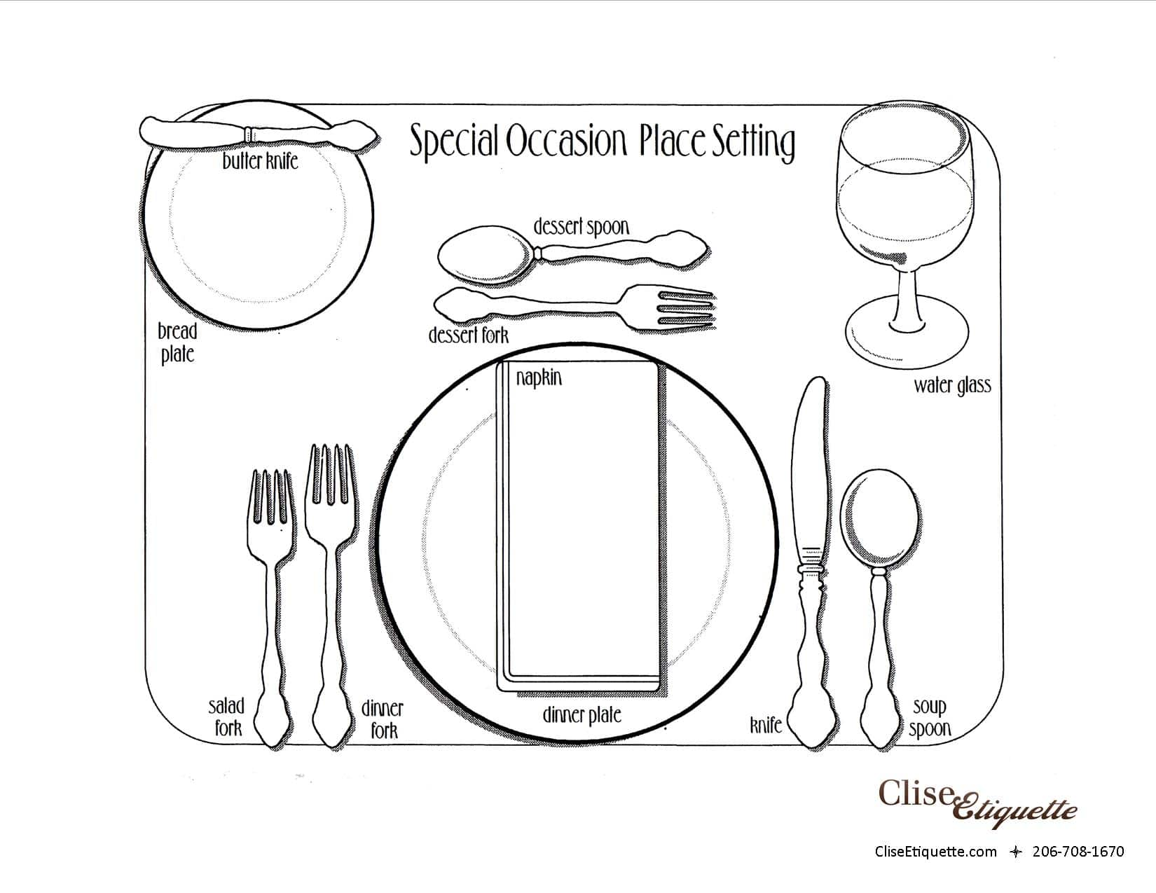 Setting A Formal Easter Table